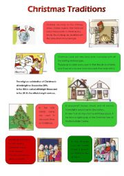 Super English Teaching Worksheets Christmas Traditions Easy Diy Christmas Decorations Tissureus