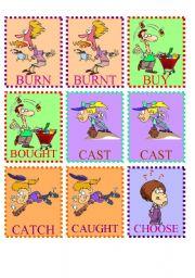 English Worksheets: MEMORY GAME SET2