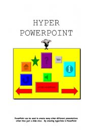 English Worksheets: Hyper PowerPoint Booklet Part 1