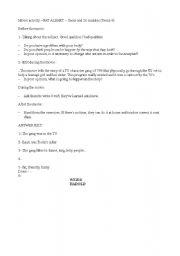 English Worksheets: Movie activity FAT ALBERT