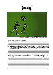 English Worksheets: Banksy