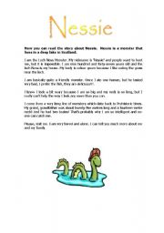 English Worksheets: Nessie