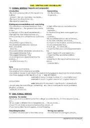 CAE - Certificate in Advanced English - Writing guide