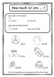 english teaching worksheets how much is it. Black Bedroom Furniture Sets. Home Design Ideas
