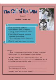 English Worksheets: the call of the wild 2( study guide)
