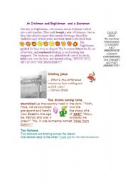 anecdotes 9 SHORT FUNNY STORIES -on 3 pages - ESL worksheet by Tatyana83
