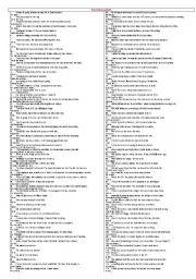 English Worksheet: rephrasing relatives