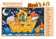 English Worksheets: Noah�s Ark 3