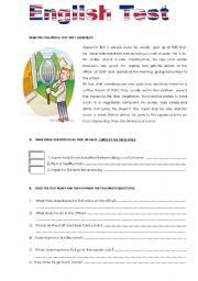 English Worksheets: Inspector Bull