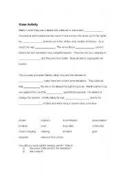 English Worksheet: Inferences