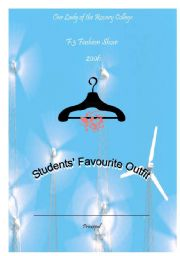 English Worksheets: Certificate_fashion show 2