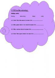 English Worksheets: worksheet for grade 4