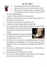 English Worksheets: Clever Questions))