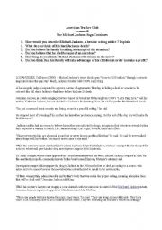 English Worksheet: Conversation , Reading , Comprehension , and Speaking for Adults