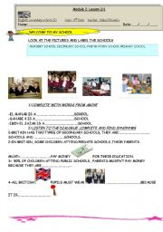 ENGLISH SECONDARY SCHOOLS