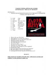 English Worksheets: movie the day of the beast