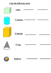 math worksheet : 3d shape identification worksheet : 2d And 3d Shapes Worksheets For Kindergarten