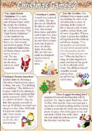 Christmas Games (2/3)