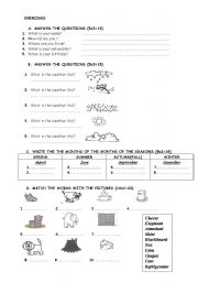 EXERCISES FOR YOUNG LEARNERS