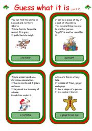 Christmas card game