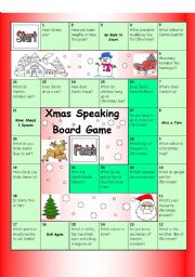 Board Game - Christmas (Easy)