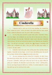 English Worksheets: Cindrella