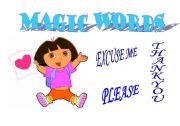 English Worksheets: MAGIC WORDS