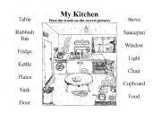 sketchup kitchen coloring pages. Black Bedroom Furniture Sets. Home Design Ideas