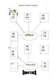 English Worksheets: Addition Worksheet