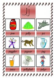 picture dictionary (J)
