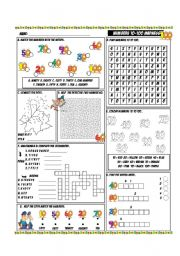English Worksheets: Numbers 10-100 Madness