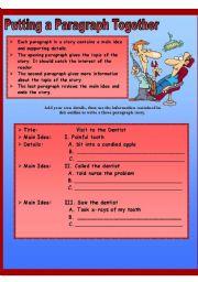 English Worksheets: developing writing 2