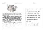 English Worksheets: Bad Singing