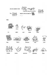 English Worksheet: The story of Treasure Island