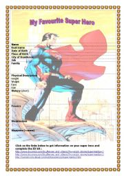 My Favourite Super Hero
