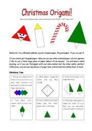 english teaching worksheets origami. Black Bedroom Furniture Sets. Home Design Ideas