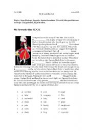 English Worksheets: My favourite film HOOK