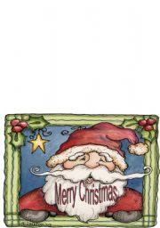 English Worksheet: Christmas Card