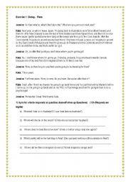 English Worksheets: Plan