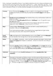 English Worksheet: Stereotypes about Russia