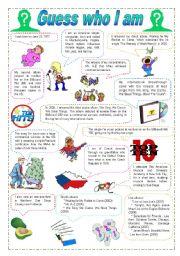 English Worksheet: Quiz
