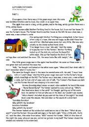 English Worksheets: Satchkin Patchkin