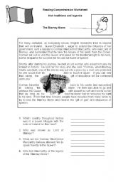 English Worksheets: Blarney Stone