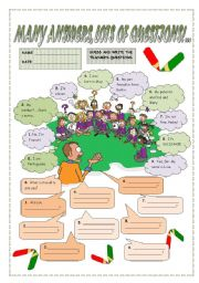 English Worksheets: MANY ANSWERS, LOTS OF QUESTIONS!...