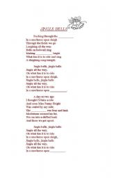 English worksheets: Jingle Bells - Fill in the gaps