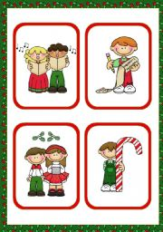 Christmas Set  (1)  -  16  Flashcards