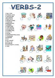 verbs 2 worksheet by cuneiform. Black Bedroom Furniture Sets. Home Design Ideas