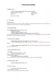 English Worksheet: Bowling for Columbine: a study of the whole film