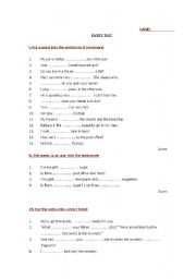 entry test for secondary schools
