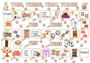 English Worksheets: THIS, THESE, THAT, THOSE - GAME (3) - furniture